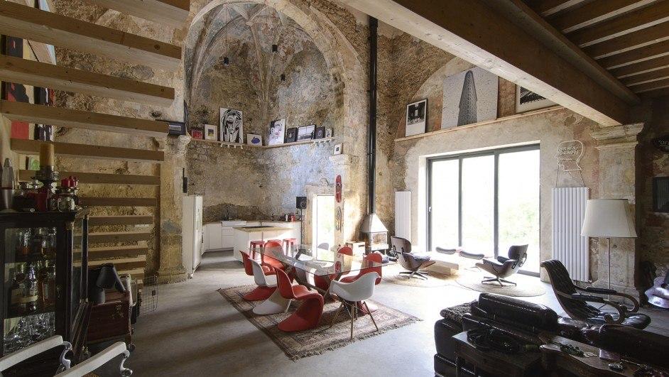 La iglesia que se convirtió en una casa de diseño.